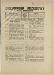 Orędownik Urzędowy Miasta Bydgoszczy, R.44, 1927, Nr 6