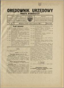 Orędownik Urzędowy Miasta Bydgoszczy, R.44, 1927, Nr 10