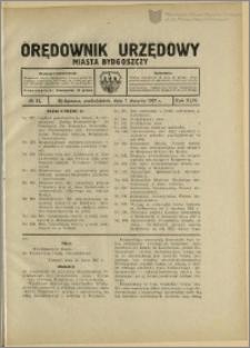 Orędownik Urzędowy Miasta Bydgoszczy, R.44, 1927, Nr 13