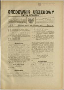 Orędownik Urzędowy Miasta Bydgoszczy, R.44, 1927, Nr 18
