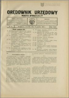 Orędownik Urzędowy Miasta Bydgoszczy, R.44, 1927, Nr 20