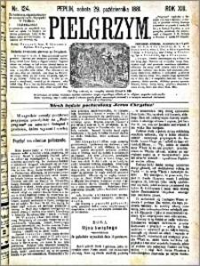 Pielgrzym, pismo religijne dla ludu 1881 nr 124