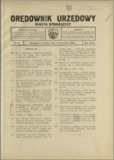 Orędownik Urzędowy Miasta Bydgoszczy, R.45, 1928, Nr 18