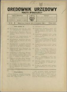 Orędownik Urzędowy Miasta Bydgoszczy, R.45, 1928, Nr 22