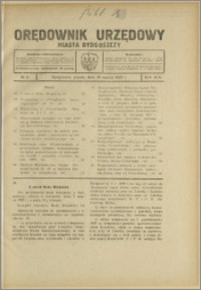 Orędownik Urzędowy Miasta Bydgoszczy, R.45, 1929, Nr 6