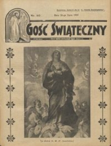 Gość Świąteczny 1935.07.28 R. XXXIX nr 30