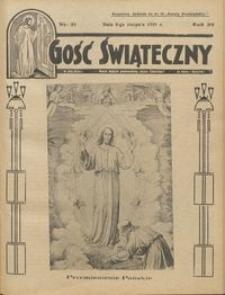 Gość Świąteczny 1935.08.04 R. XXXIX nr 31