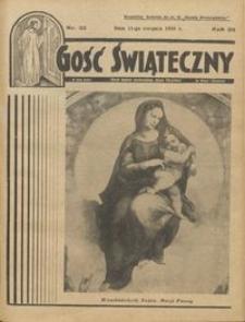 Gość Świąteczny 1935.08.11 R. XXXIX nr 32