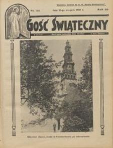 Gość Świąteczny 1935.08.25 R. XXXIX nr 34