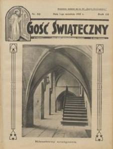 Gość Świąteczny 1935.09.01 R. XXXIX nr 35