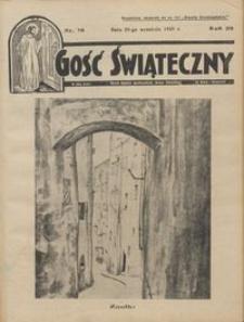Gość Świąteczny 1935.09.29 R. XXXIX nr 39