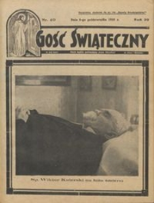 Gość Świąteczny 1935.10.06 R. XXXIX nr 40