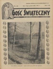 Gość Świąteczny 1935.10.20 R. XXXIX nr 42