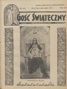 Gość Świąteczny 1935.10.27 R. XXXIX nr 43