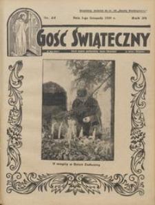 Gość Świąteczny 1935.11.03 R. XXXIX nr 44