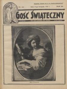 Gość Świąteczny 1935.11.17 R. XXXIX nr 46
