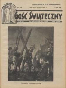 Gość Świąteczny 1935.12.01 R. XXXIX nr 48