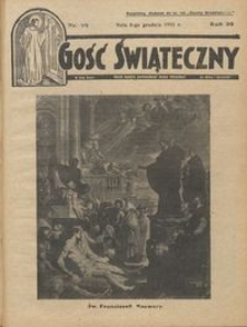 Gość Świąteczny 1935.12.08 R. XXXIX nr 49
