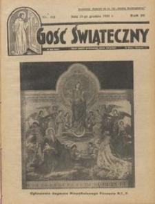 Gość Świąteczny 1935.12.15 R. XXXIX nr 50
