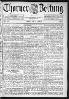Thorner Zeitung 1894, Nr. 12