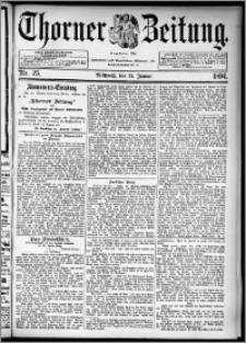 Thorner Zeitung 1894, Nr. 25