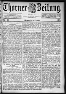 Thorner Zeitung 1894, Nr. 43