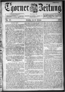 Thorner Zeitung 1894, Nr. 47 Erstes Blatt