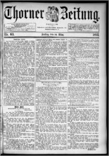 Thorner Zeitung 1894, Nr. 63