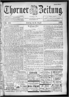 Thorner Zeitung 1894, Nr. 199 Zweites Blatt