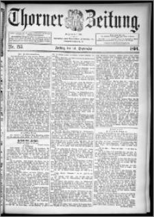 Thorner Zeitung 1894, Nr. 215
