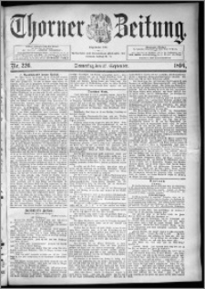 Thorner Zeitung 1894, Nr. 226