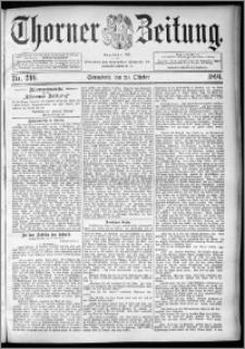 Thorner Zeitung 1894, Nr. 246