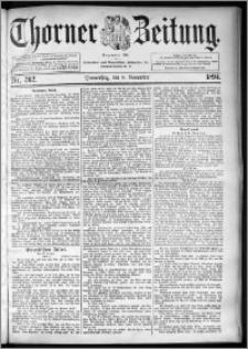 Thorner Zeitung 1894, Nr. 262