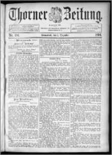 Thorner Zeitung 1894, Nr. 281