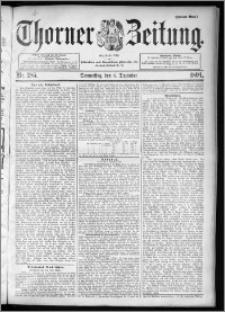 Thorner Zeitung 1894, Nr. 285 Zweites Blatt