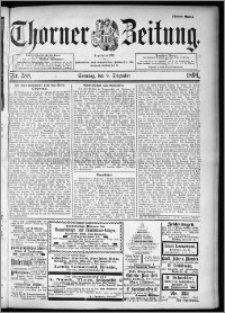 Thorner Zeitung 1894, Nr. 288 Drittes Blatt