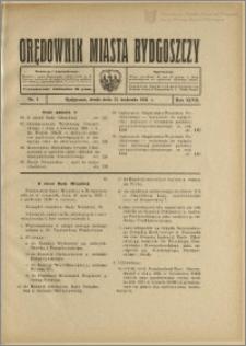 Orędownik Miasta Bydgoszczy, R.47, 1931, Nr 9