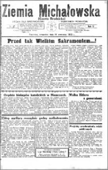 Ziemia Michałowska (Gazeta Brodnicka), R. 1933, Nr 67