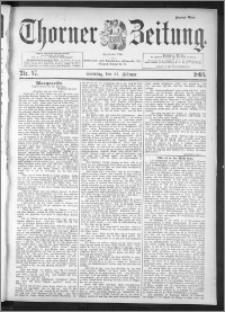 Thorner Zeitung 1895, Nr. 47 Zweites Blatt
