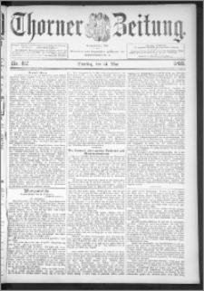 Thorner Zeitung 1895, Nr. 112