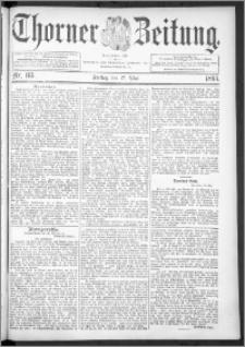 Thorner Zeitung 1895, Nr. 115