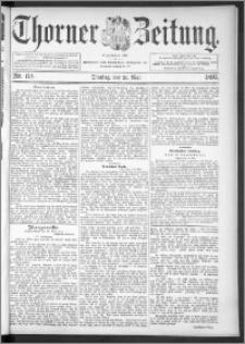 Thorner Zeitung 1895, Nr. 118