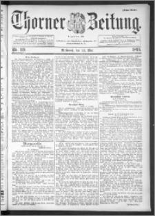 Thorner Zeitung 1895, Nr. 119 Erstes Blatt