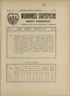 Orędownik Miasta Bydgoszczy, R.48, 1932, Nr 23, Wiadomości statystyczne miasta Bydgoszczy, Nr 3