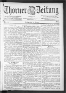Thorner Zeitung 1895, Nr. 3