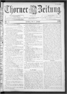 Thorner Zeitung 1895, Nr. 5 Zweites Blatt