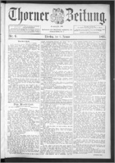 Thorner Zeitung 1895, Nr. 6