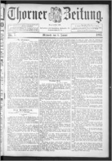 Thorner Zeitung 1895, Nr. 7