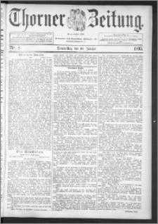 Thorner Zeitung 1895, Nr. 8