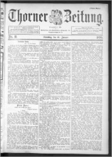 Thorner Zeitung 1895, Nr. 11 Erstes Blatt